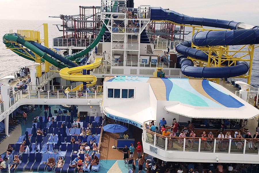 Norwegian Escape Cruise Ship Outdoor Decks